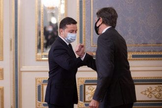 Держсекретар США Блінкен відвідав з візитом Україну