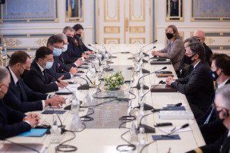 Зеленський озвучив результати переговорів з держсекретарем США