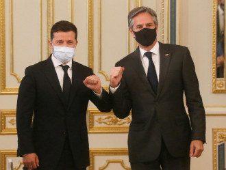 Встреча Зеленского и Блинкена в Киеве 6 мая