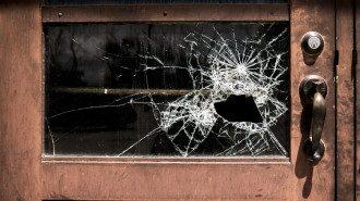 розбите вікно, пограбування