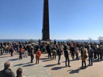 Драка в Одессе произошла на акции Бессмертный полк