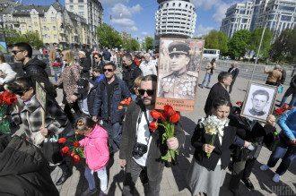9 мая в центре Киева произошли разборки