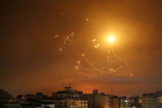 Ізраїль, обстріл