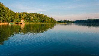 Белое озеро на Полесье