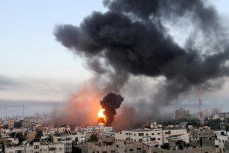 Израиль обстрел