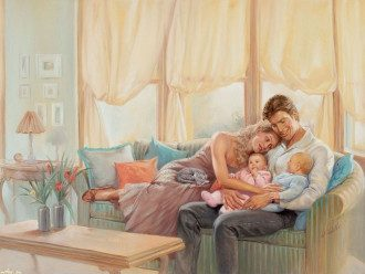Прикольные поздравления с Днем семьи своими словами и картинки