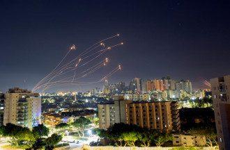 Израиль, обстрел