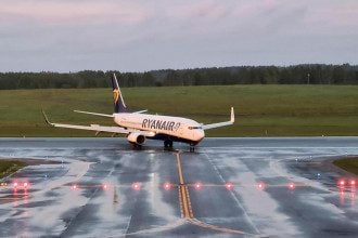 Ryanair, Мінськ