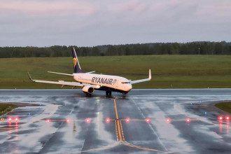 Ryanair, Минск