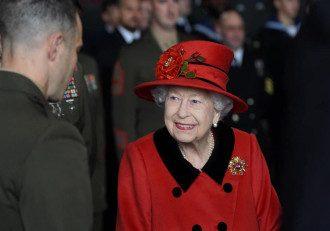 Елизавета II в Портсмуте