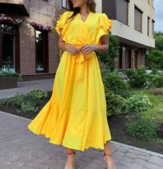 Модні сукні міді 2021 у стилі 90-х