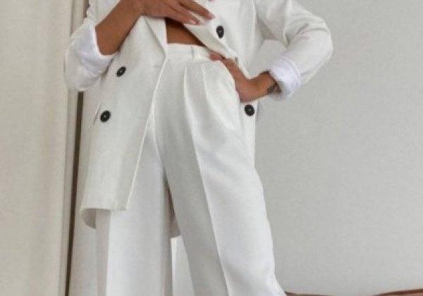 Модні білі штани 2021