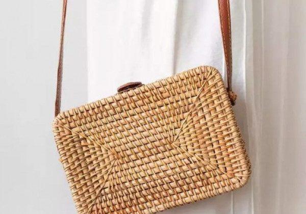 Модные соломенные сумки 2021
