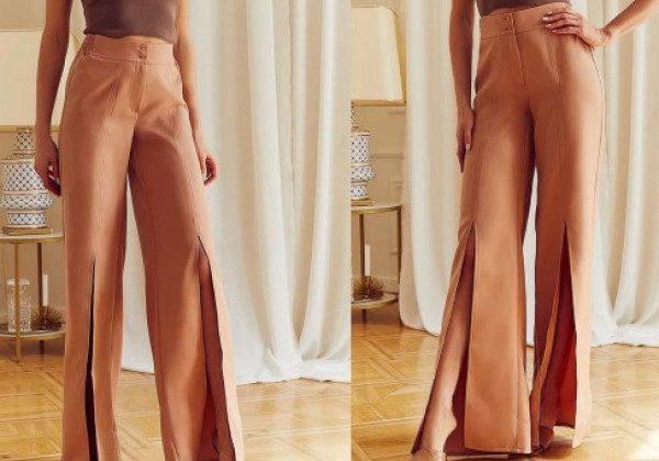 Модні штани-кльош літо 2021