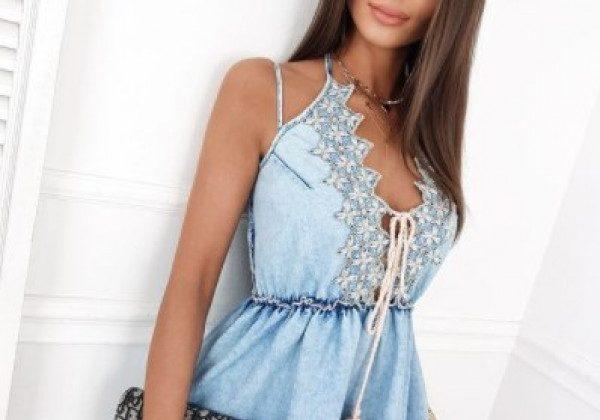 Модні джинсові сукні 2021