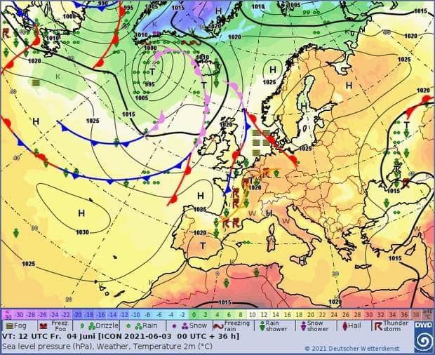 Синоптик дала прогноз погоды для Украины на завтра, 04.06.2021