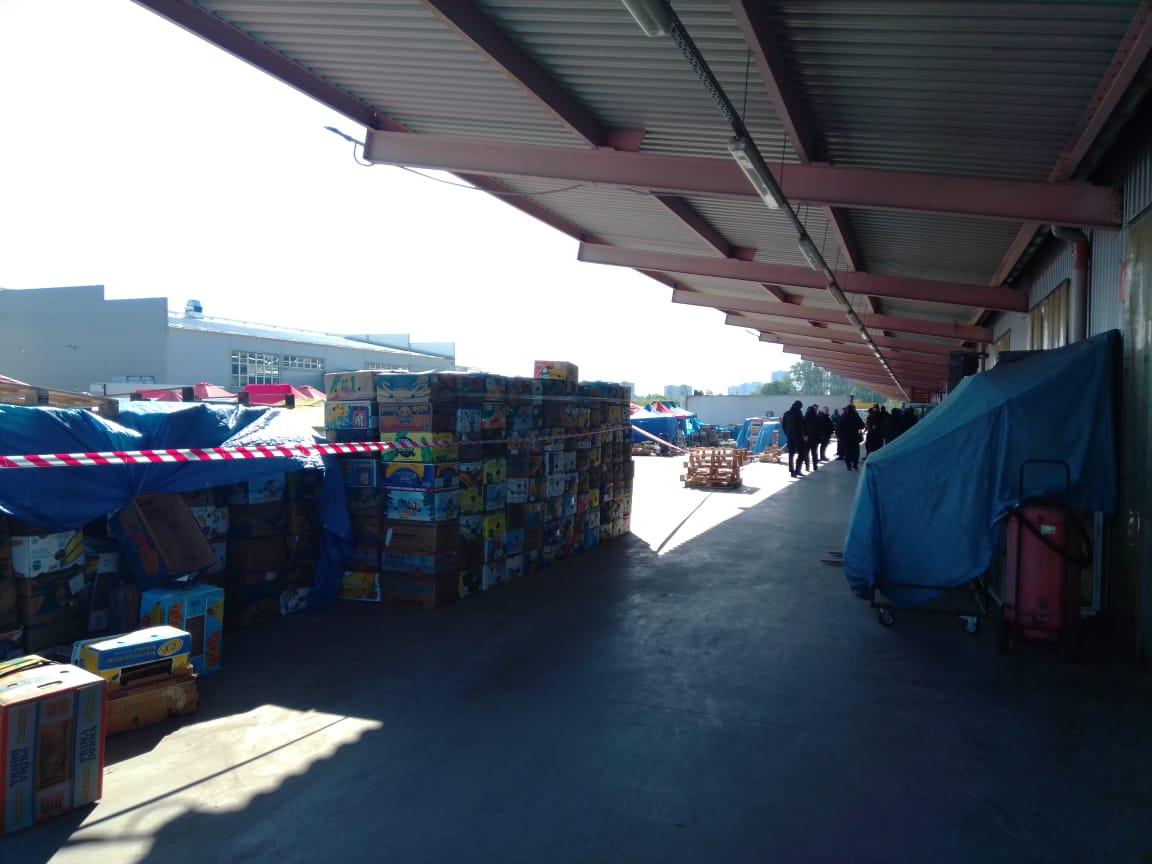 На Столичному ринку прогриміли вибухи