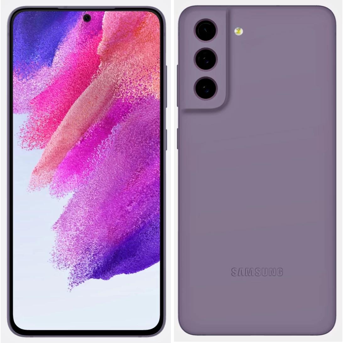 Внешний вид Galaxy S21 FE