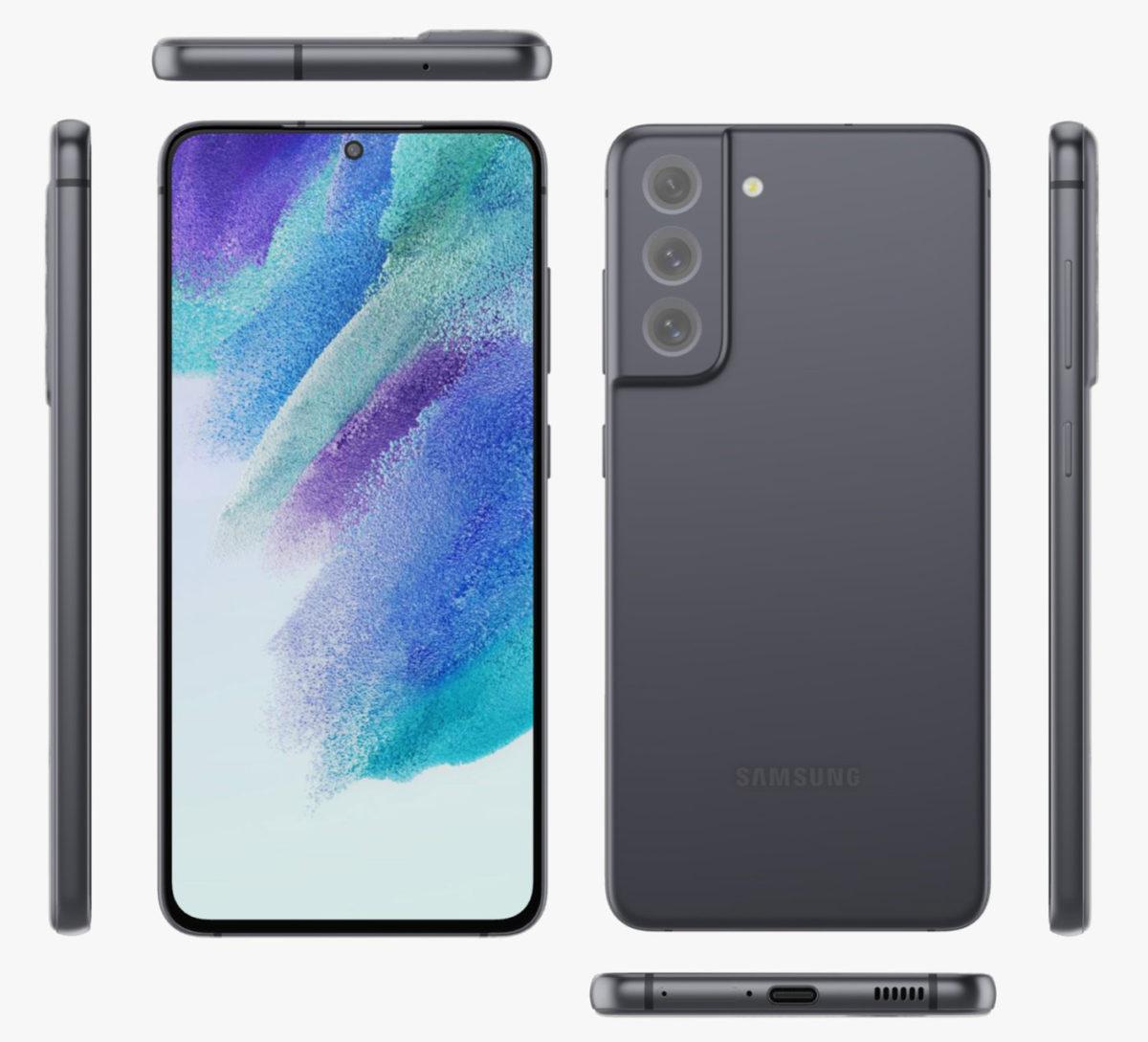 Инсайдер показал все расцветки Samsung Galaxy S21 FE