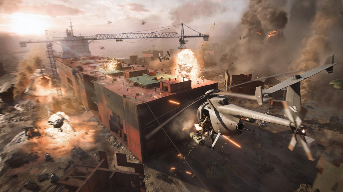 Скриншоты Battlefield 2042