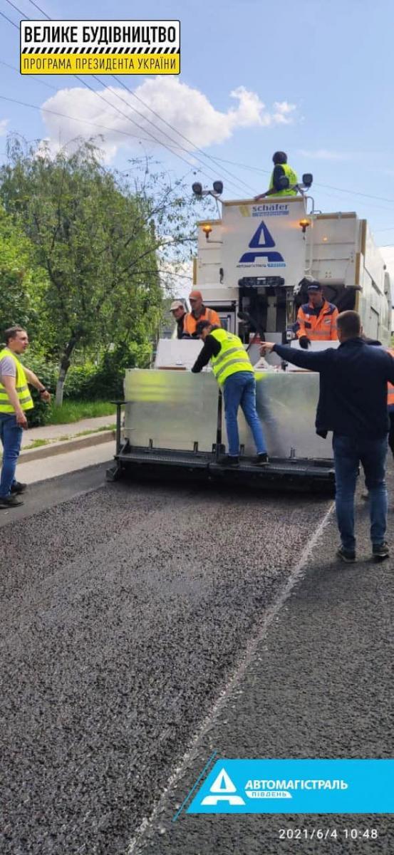 Большая стройка на автодороге М-03 Киев-Харьков-Должанский