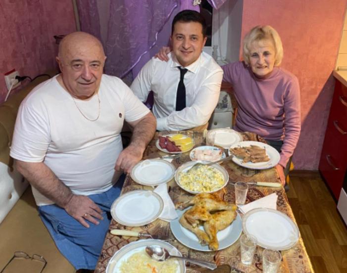 Зеленский и его родители