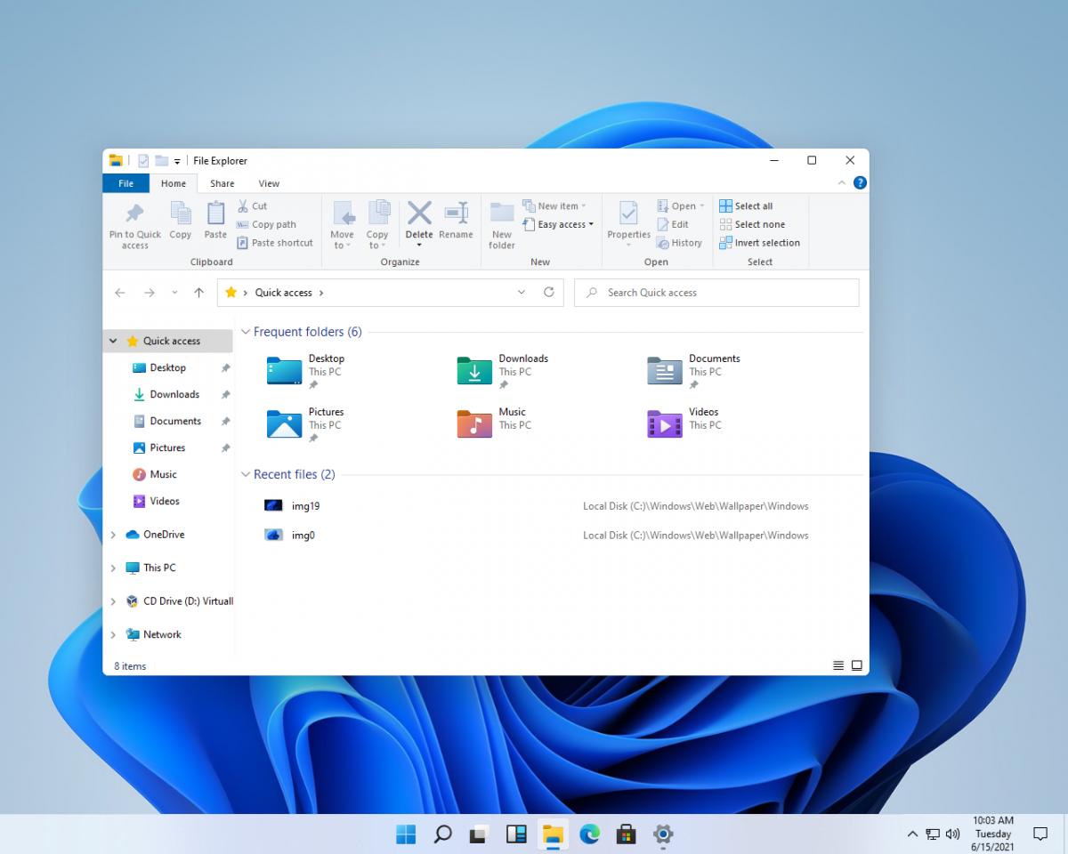 Дизайн интерфейса Windows 11