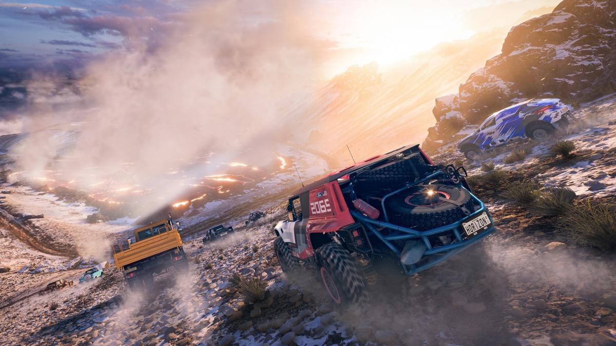 Офіційні скріншоти Forza Horizon 5