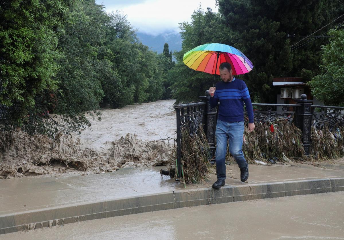 Потоп в Ялті