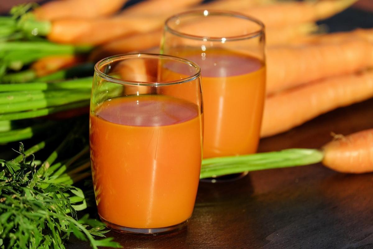 сік, морква, морквяний сік