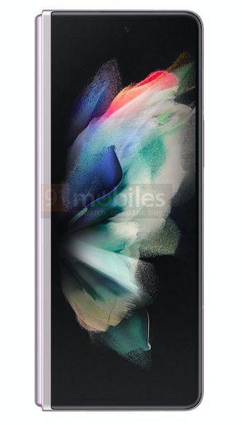 Подборка официальных рендеров Samsung Galaxy Z Fold 3