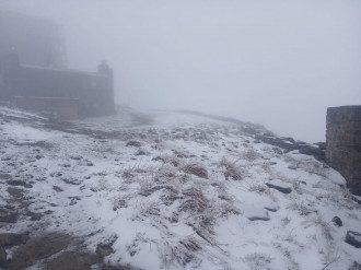 Снег в июне прогнозируют в Украине