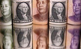 юань, долар