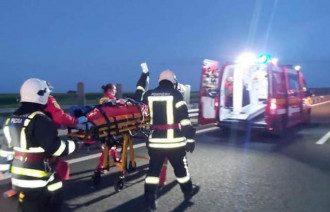 Авария в Румынии