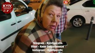 Пенсионерка ездит на такси