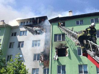 В Белогородке произошел мощный взрыв и пожар