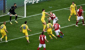 Украина проиграла Австрии на Евро-2020