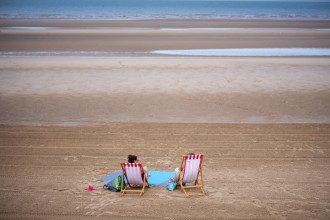 пляж море океан