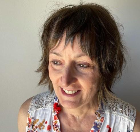 Короткая стрижка шэг 2021 для женщин после 50 лет