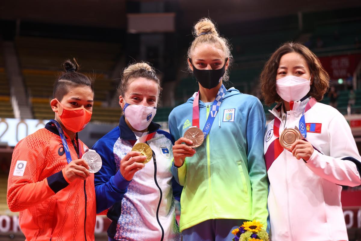 Перша медаль України на Олімпіаді-2020