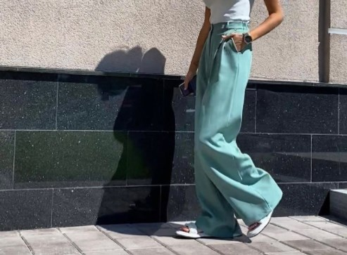Модные летние брюки женские 2021