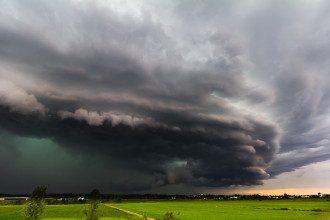 В Україні прогнозують зливи та шквали