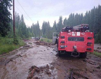 Наводнение на Закарпатье