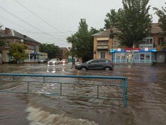 Бердянськ, потоп