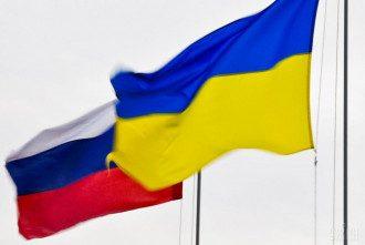 Флаги, Россия, Украина