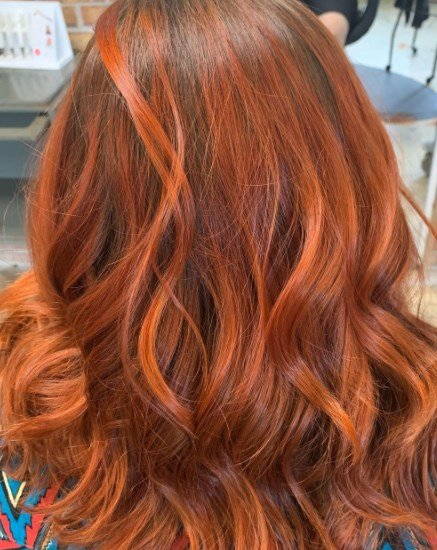 Модное окрашивание волос 2021 осень