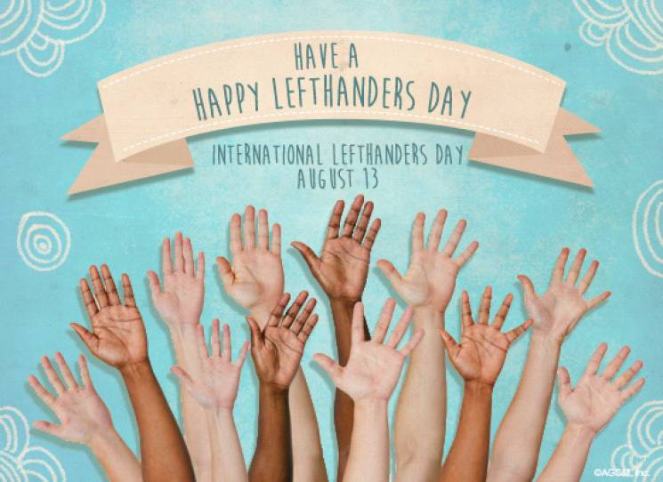 Международный день левши: картинки, открытки, поздравления