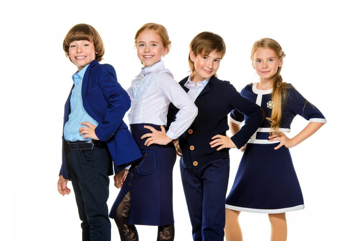 Модная школьная форма для детей