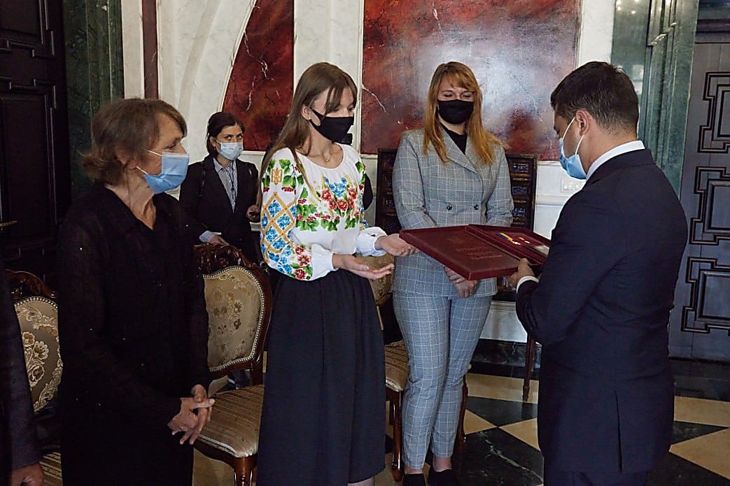 Жена и дочь Юрия Горайского