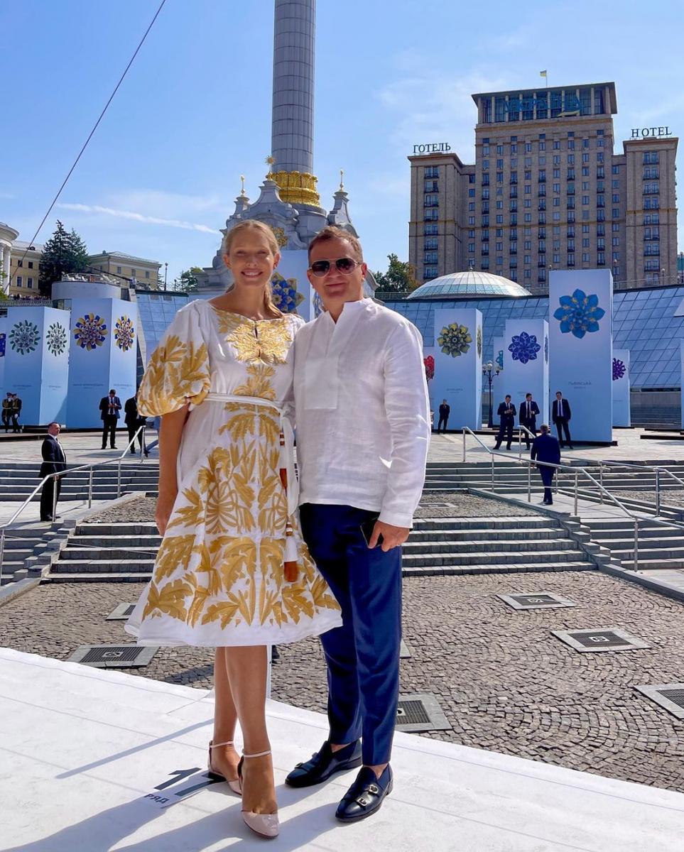 Катерина Осадчая и Юрий Горбунов